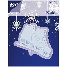 Joy!Crafts / Hobby Solutions Dies Embossing en snijmat, schaatsen