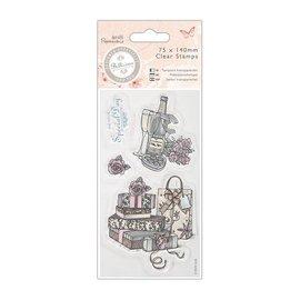Docrafts / Papermania / Urban Clear stamps, 75 x 140mm - Bellisima - Célébrez
