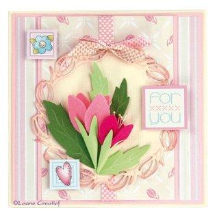 Leane Creatief - Lea'bilities LeCrea'Multi Die, LeCrea'Multi Die - Multi die flower 001