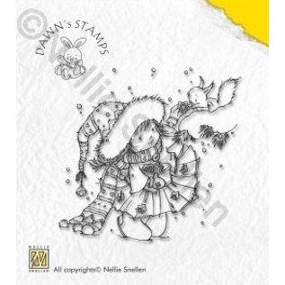 Nellie Snellen Nellie Snellen Clear stamps, Christmas Scene