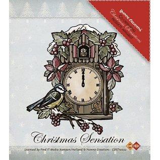 Yvonne Creations Yvonne Creations, Transparent Stempel, Weihnachtsmotiv