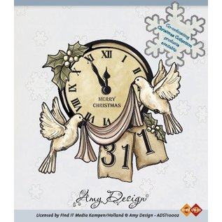AMY DESIGN Amy Design, Clear stamps, Christmas Scene