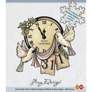 AMY DESIGN Amy Design, Clear stempels, Scène van Kerstmis