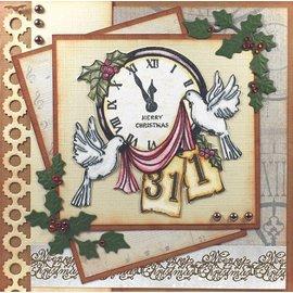 AMY DESIGN Projet pour la nouvelle année: timbre transparent