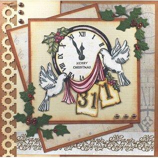 AMY DESIGN AMY DESIGN, gennemsigtigt frimærke, julemotiv