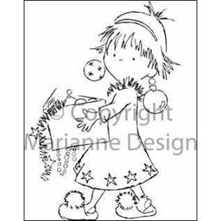 Marianne Design Marianne Design Clear stamps, Christmas Scene