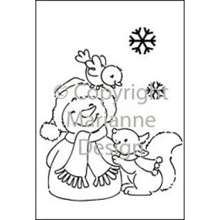 Marianne Design Marianne Design Clear stamps, Snowman