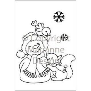 Marianne Design Marianne Design Effacer timbres, bonhomme de neige