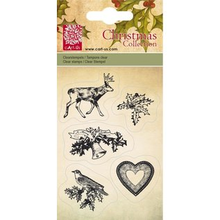 Cart-Us Cart-Us, Clear stamps, Christmas Collection