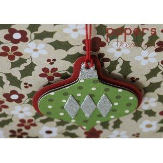 Sizzix Stanz- und Prägeschablonen, Sizzix: Weihnachtskugeln