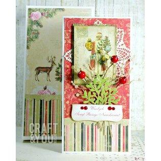 Designer Papier Scrapbooking: 30,5 x 30,5 cm Papier Christmas Story Papierblock, 30,5 x 30,5cm