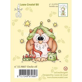 Leane Creatief - Lea'bilities Clear stamps hibou