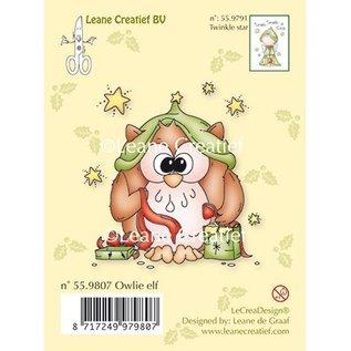 Leane Creatief - Lea'bilities Clear stamps hibou