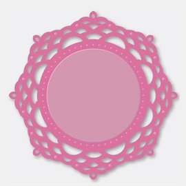 Stempel / Stamp: Transparent Couture Creations - ornemental Dentelle Le Miroir - MIRRORY