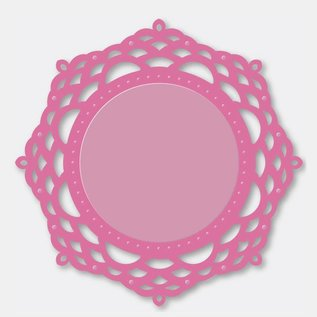 Stempel / Stamp: Transparent Couture Creations - Ornamental Lace The - Mirror Mirror