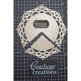 Stempel / Stamp: Transparent Couture Creations - Ornamental Lace Die - Mirror Mirror