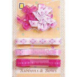 DEKOBAND / RIBBONS / RUBANS ... Collezione: Ribbon e Tipo di macinazione, rosa