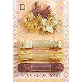 DEKOBAND / RIBBONS / RUBANS ... Collection: Ribbon and Typ of grinding shades of brown,