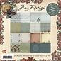 DESIGNER BLÖCKE / DESIGNER PAPER Collection Hiver - bloc de papier, 15,24 x 15,24 cm