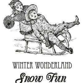 Marianne Design Gummistempel varm vinter Wishes