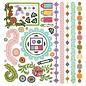 Sticker Indie bloom stickers, 30,5 x 30,5cm