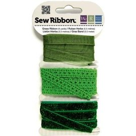 DEKOBAND / RIBBONS / RUBANS ... verts Assortiment de ruban