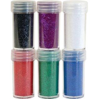 BASTELZUBEHÖR, WERKZEUG UND AUFBEWAHRUNG Velvet in polvere, 6 colore diverso