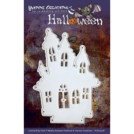 Yvonne Creations Stamping and pre-mask, Yvonne Creations - Halloween - House