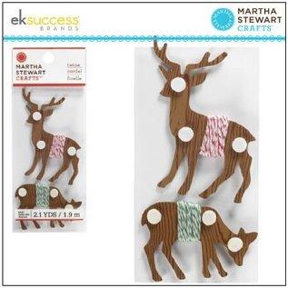 EK Succes, Martha Stewart Martha Stewart, reindeer coil, 1.5m, 2 units