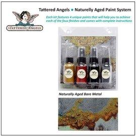 FARBE / STEMPELINK Tattered Angels natuurlijk verouderd bare metal roestige