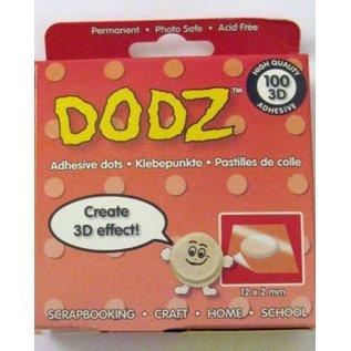 BASTELZUBEHÖR, WERKZEUG UND AUFBEWAHRUNG Dodz glue dots, permanent, 12 x 2 mm