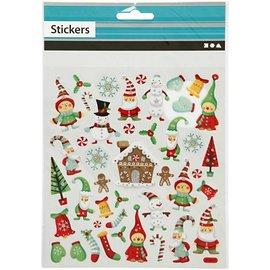 Sticker Auto-adesivas folha de adesivos com grandes projetos e glitter efeito