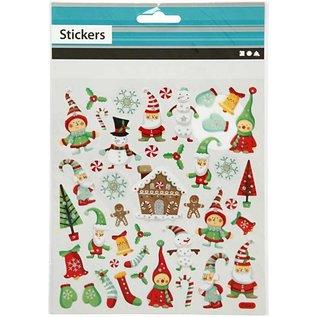 Sticker Zelfklevende folie stickers met spannende ontwerpen en glitter effect