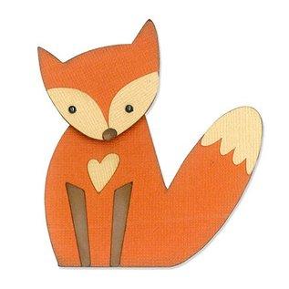 Sizzix Presning og prægning stencils, ThinLits - Fox