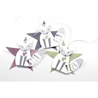 Sizzix Stempelen en embossing stencils, ThinLits - Fox