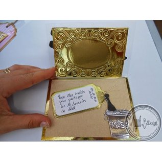 Joy!Crafts / Jeanine´s Art, Hobby Solutions Dies /  Stamping and embossing stencils, rectangular frame