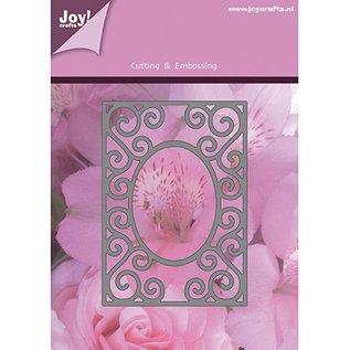 Joy!Crafts / Jeanine´s Art, Hobby Solutions Dies /  Presning og prægning stencils, rektangulær ramme