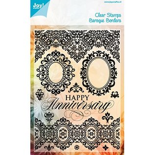 Joy!Crafts / Hobby Solutions Dies Transparent Stempel, Baroque Borders