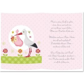 REDDY 5 transparent papers, sheet A5, poems birth girl
