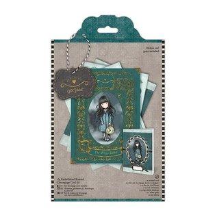 Gorjuss / Santoro Craft Kit: Decoupage card kit A5, Simply Gorjuss