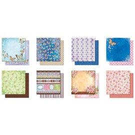 Designer Papier Scrapbooking: 30,5 x 30,5 cm Papier Blocco Designer, Premium Glitter Scrapbook carta, 30,5 x 30,5 centimetri