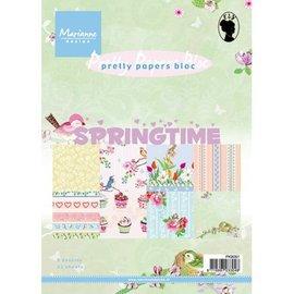 Bücher und CD / Magazines Jolis Papiers - A5 - temps de printemps