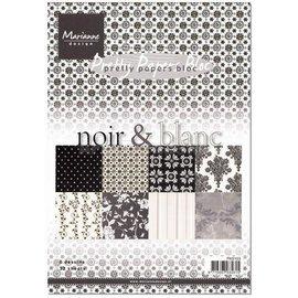 DESIGNER BLÖCKE / DESIGNER PAPER Pretty Papers, A5, noir & black