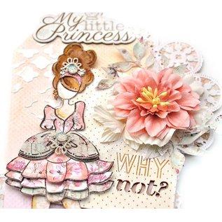 Prima Marketing und Petaloo Doll Stamps - Stamp Doll mindy