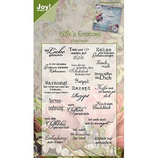 Joy!Crafts / Hobby Solutions Dies Joy Craft Clear stamps