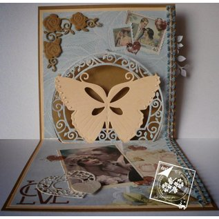 Joy!Crafts / Jeanine´s Art, Hobby Solutions Dies /  Joy Crafts, Stamping and Embossing Stencil