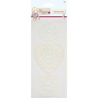Komplett Sets / Kits 3 hübsche embroidery Shapes von Til Daydream