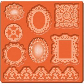 ModPodge Mod Podge, Mod Mold Ornaments, 95 x 95 mm, 8 Designs,