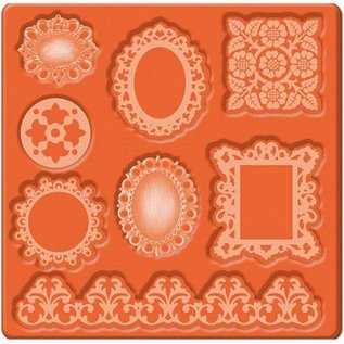 ModPodge Mod Podge Mod Mold Ornaments, 95 x 95 mm, 8 designs