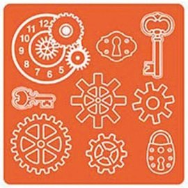 ModPodge Mod Podge, Mod Mold Industrial, 95 x 95 mm, 9 Designs